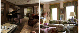 Interiores estilo ingles- imagenes de disnos de casas