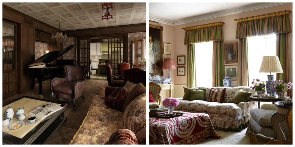 Interiores estilo ingles elegancia y comodidad en - Estilo ingles decoracion interiores ...