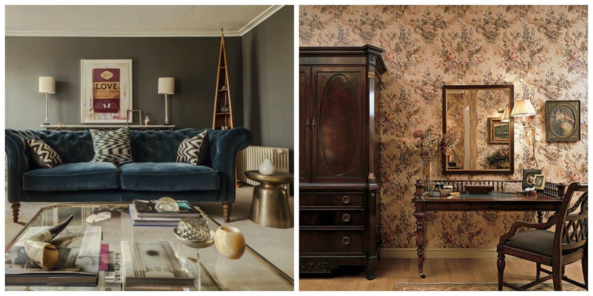 Muebles estilo ingles- tendencias pirncipales
