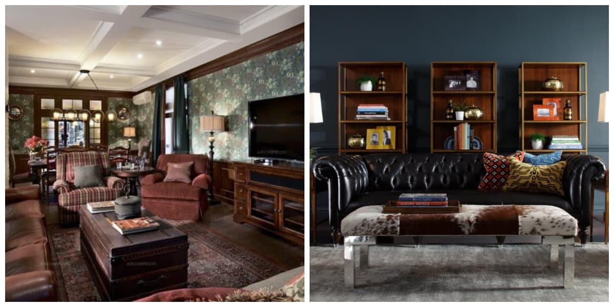 Muebles estilo ingles- ideas generales de moda