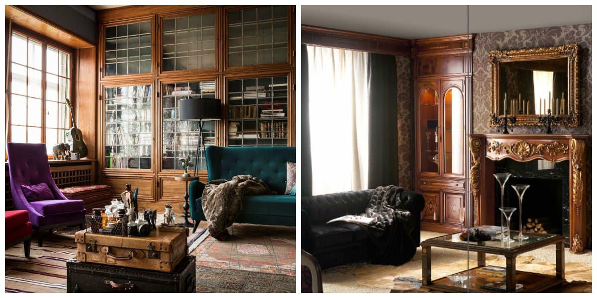 Muebles estilo ingles- uso de muebles de moda