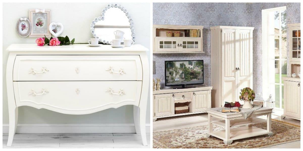 Muebles estilo provenzal- decoracion moderna