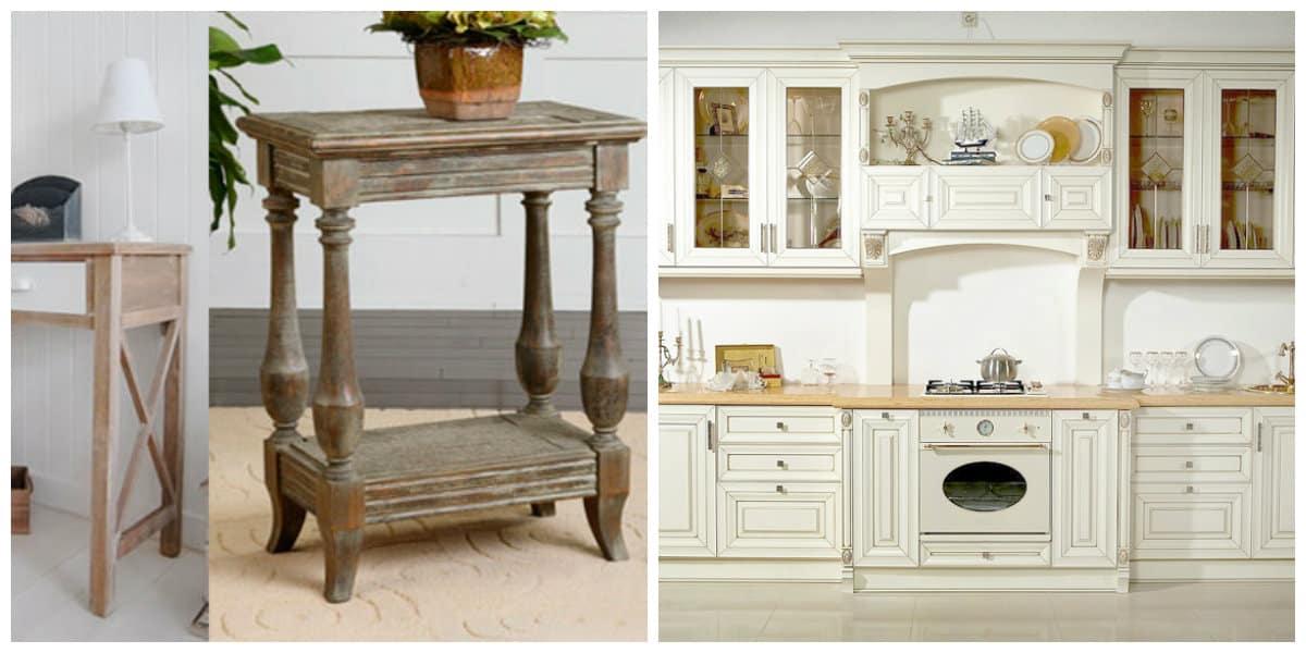 Muebles estilo provenzal- estilos perfectos para la casa