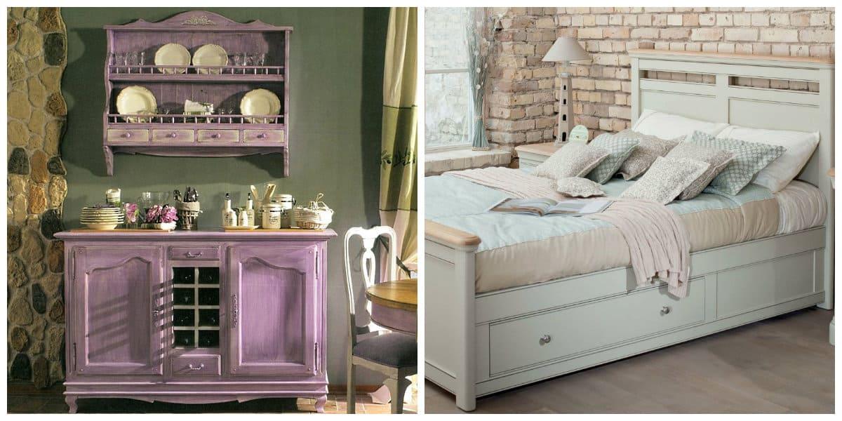 Muebles estilo provenzal- casas decoradas
