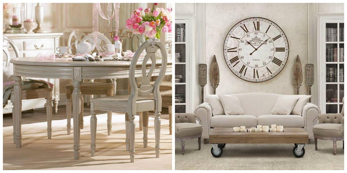 Muebles estilo provenzal- atributos de moda
