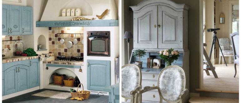 Muebles estilo provenzal- ideas y soluciones