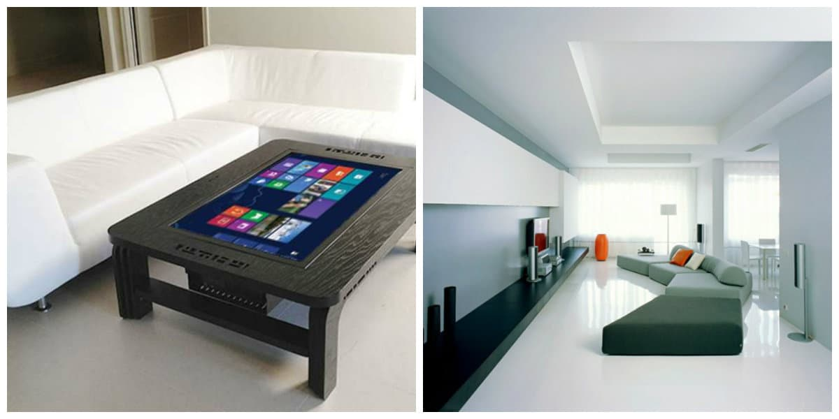 Muebles high tech- algunas ideas modernas
