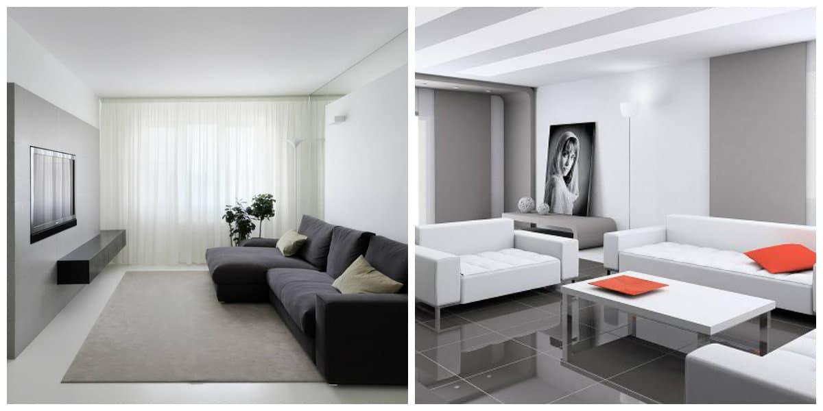 Muebles minimalistas- colores tradicionales