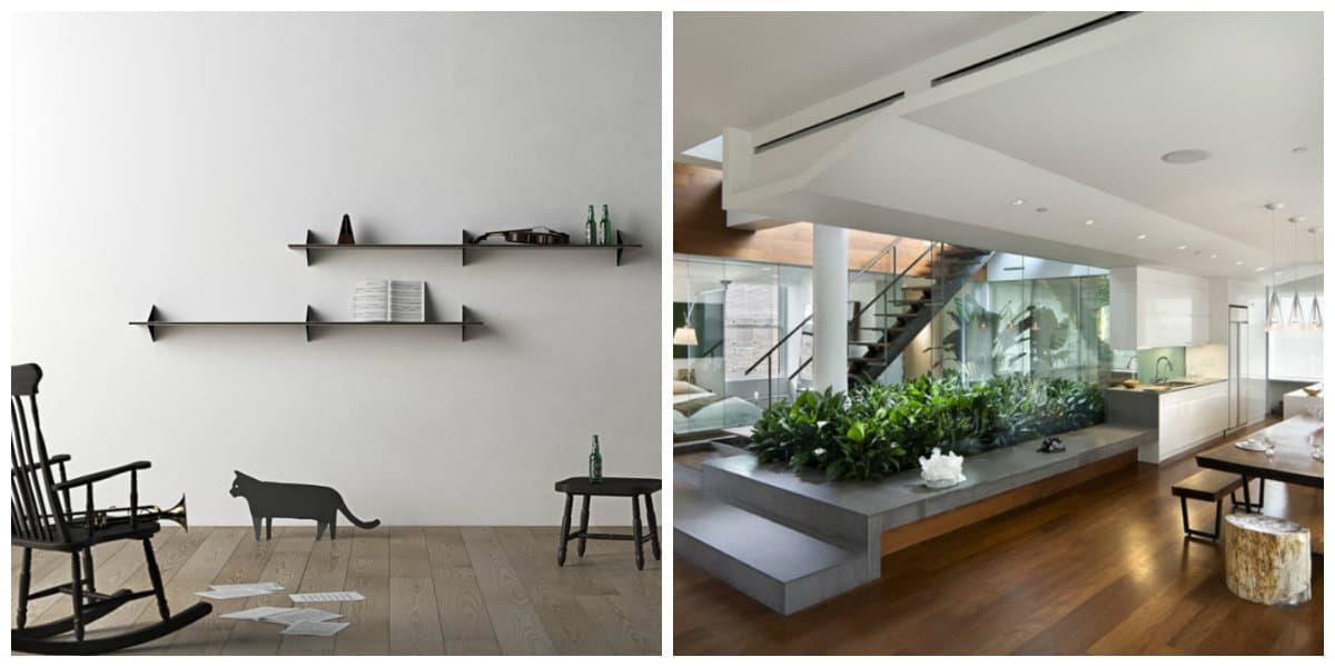 Muebles minimalistas- atributos adecuados