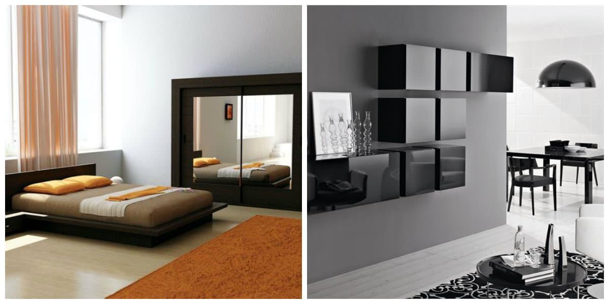 Muebles minimalistas- disenos en fotos