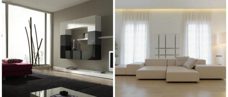 Muebles minimalistas- soluciones muy modernas