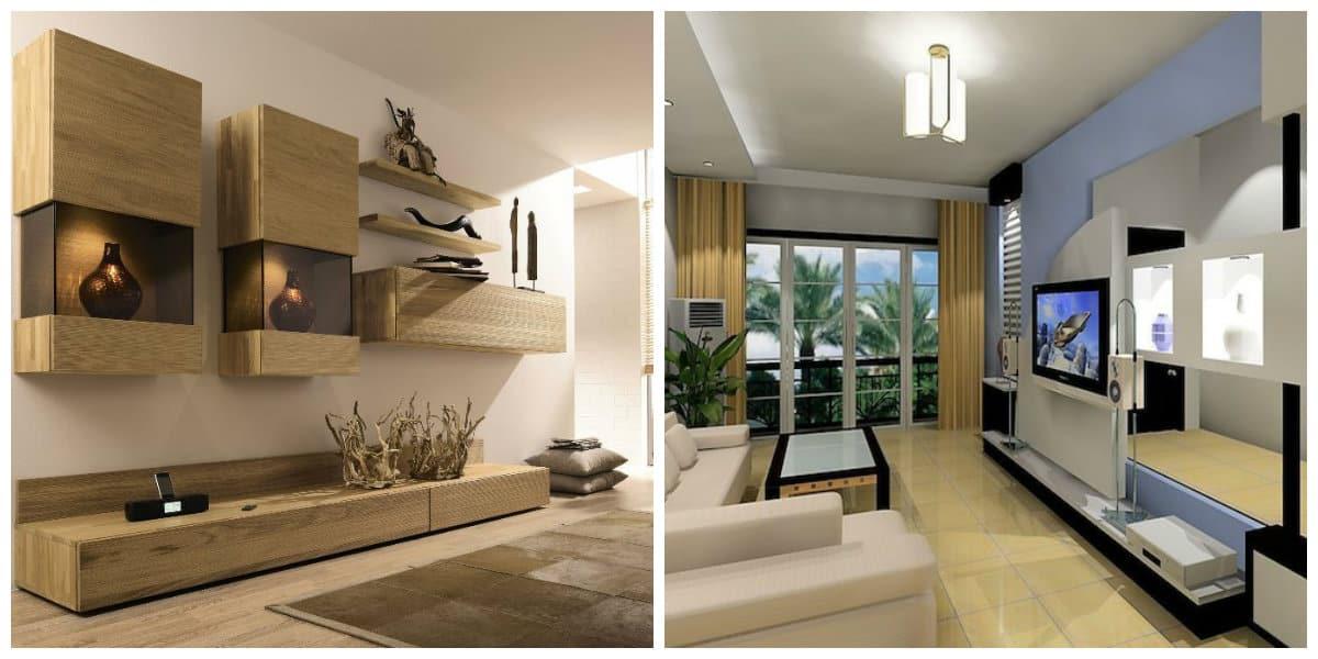 Muebles minimalistas- madera como un material