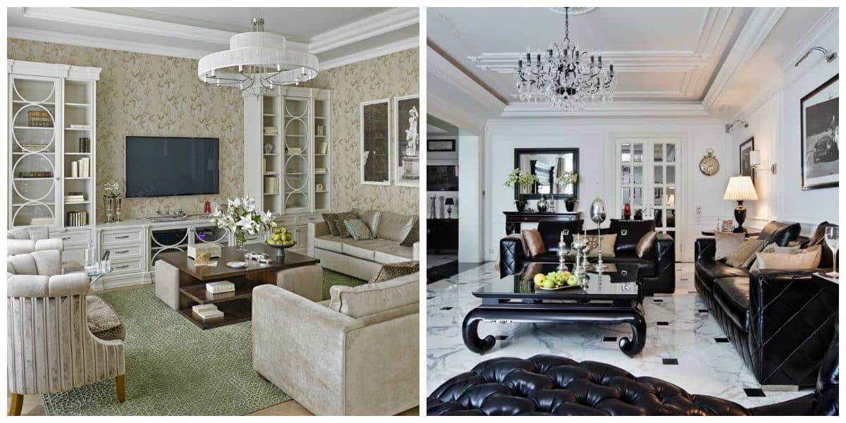 Muebles neoclasicos- ideas para tu sala de estar