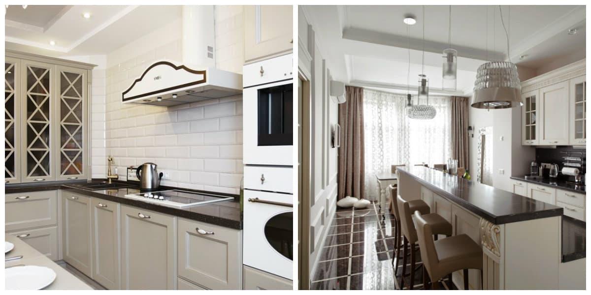Muebles neoclasicos- cocinas que son parte importante