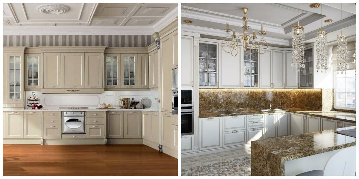 Muebles neoclasicos- como organizar tu cocina de moda
