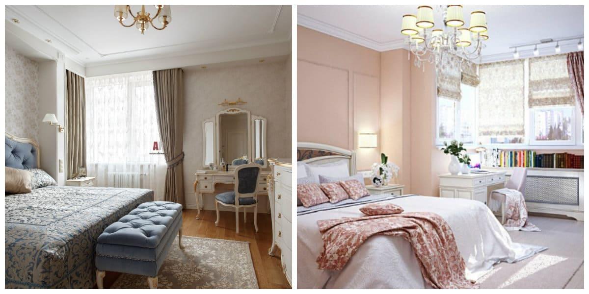 Muebles neoclasicos- habitacones para una pareja