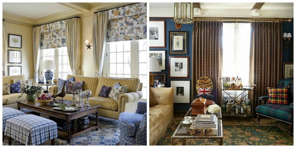 Salas estilo ingles- todas la tendencias de moda