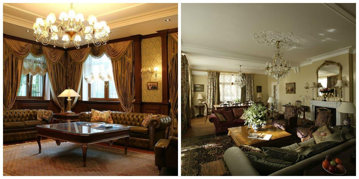 Salas estilo ingles lujo victoriano en su apartamendo - Estilo ingles decoracion interiores ...