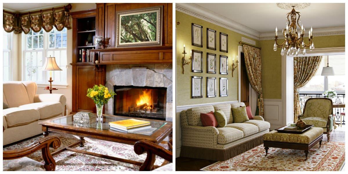 Salas estilo ingles- atributos en tu sala de estar