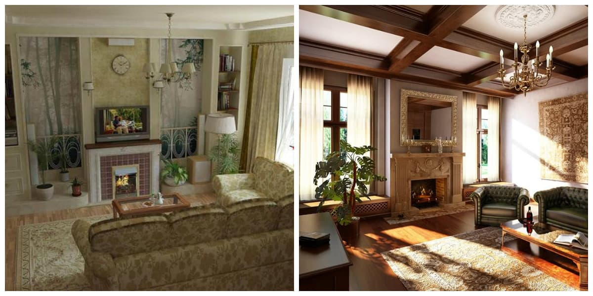 Salas estilo ingles- uso de diferentes atributos