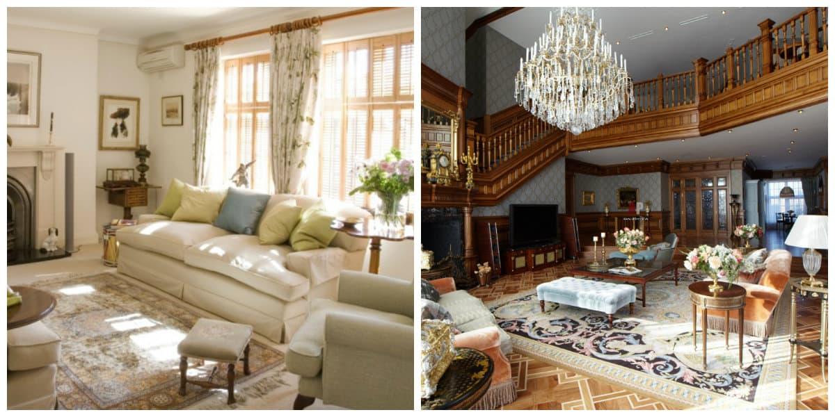 Salas estilo ingles- amueblacion de tu sala de estar
