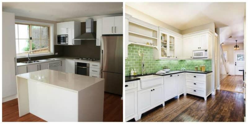 Cocinas pequeñas 2019- imagenes que pueden ayudarte