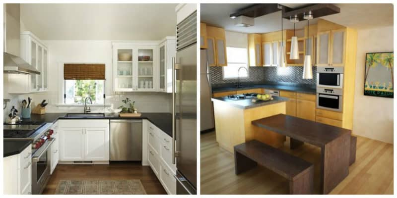 Cocinas pequeñas 2019- ideas para las cocinas modernas