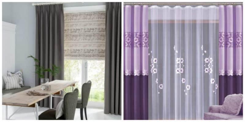 47680e14ef97 Cortinas modernas 2019: Todas las opciones del diseño de las cortinas