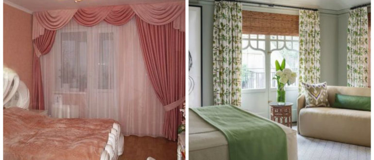 Cortinas para dormitorio 2019- estilos muy de moda