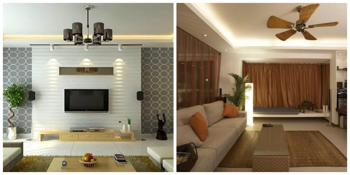 Decoracion de salas 2019- la iluminacion del salon