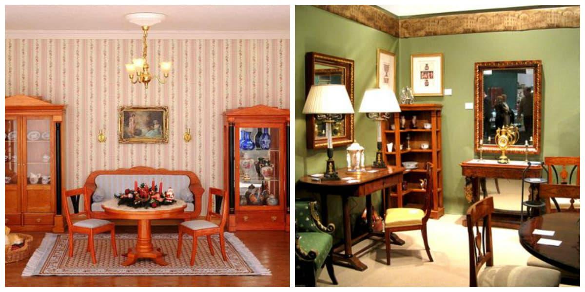 Estilo biedermeier- muebles de este estilo de moda
