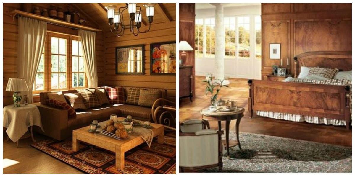 Estilo biedermeier- soluciones con muebles de madera