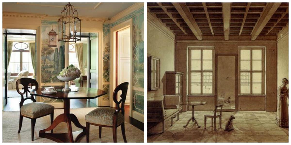 Estilo biedermeier- como crear una decoracion inolvidable