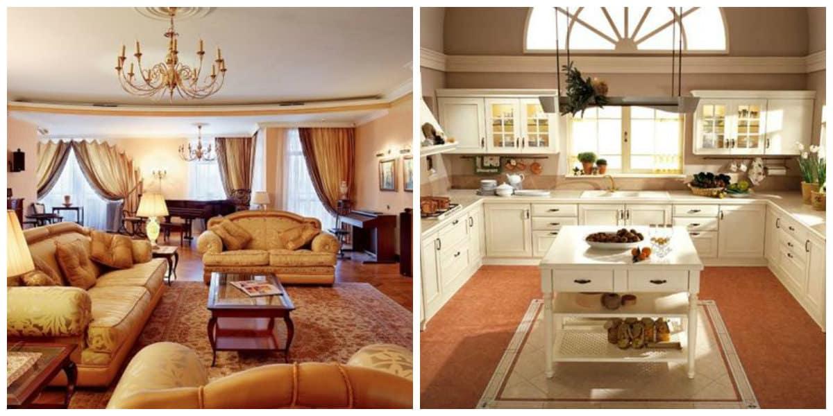 Muebles modernos- salas de estar espaciosas