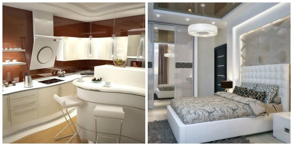 Muebles modernos- para diferentes habitaciones